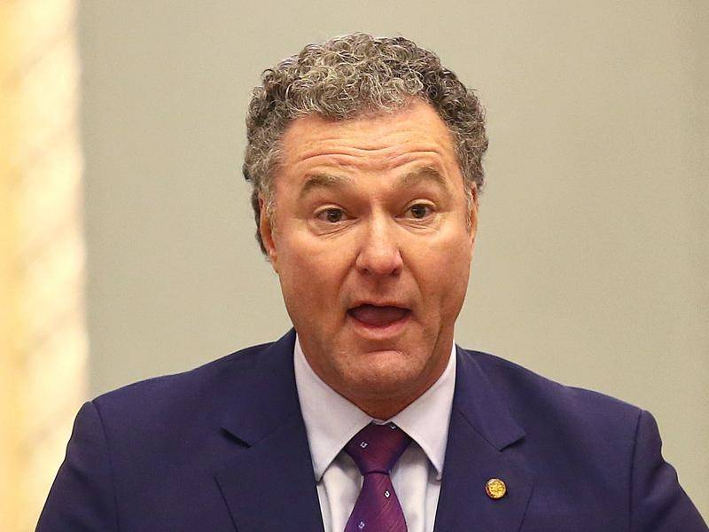 Opposition Queensland MP John-Paul Langbroek suggested Indigenous MPs were rewriting history.